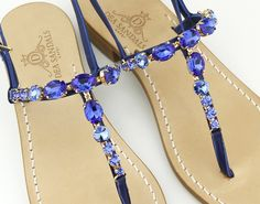 capri sandals jewel luxury swarovsky element dea sandals collection www.deasandals.com
