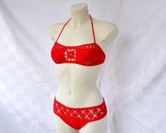 Bikini rojo para mi