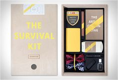 Office Survival Kits - These Quirky Kits Will Help You Breeze Through Your Days in the Office (GALLERY)