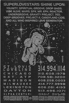 Rave flyers, underground flyers and posters preservation project