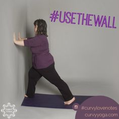 Want a little inspiration in your life today? Here's today's love note called Wall. Get more at www.curvyyoga.com/lovenotes/. #CurvyLoveNotes Love Notes, Self Love, Curvy, Yoga, My Love, Wall, Life, Inspiration, Biblical Inspiration