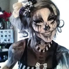#GothicMakeup More