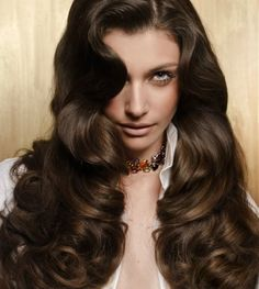 Pretty hair and color- Brown hair color ideas