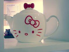 hello kitty teapot for Mari the Hello Kitty thing!