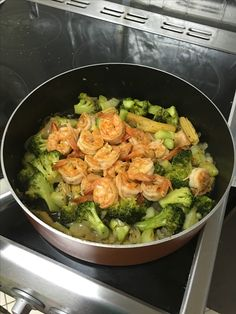 Stir Fry Shrimp and Brocolli ala Mhaj
