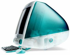 The original gum drop #iMac, an iconic machine in Apple's history. This iMac really signified the rebirth of Apple under Steve Jobs in the late '90s.     Introduced in 1998.  #SimplyMac #Apple