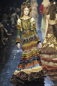 Jean Paul Gaultier- 2005 Fall Couture Collection