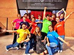 Twitter / TravelMediaPEI: @BTtoronto on PEI at the Confederation Centre of the Arts with the Young Company and Jenn Valentyne