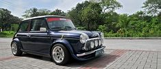 A classic Mini Cooper gets a large dose of VTEC Power