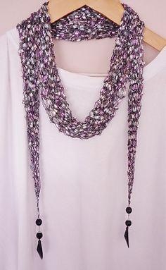 scarf will stretch a bit with wear