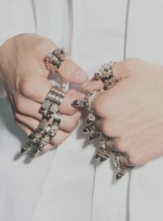 opc | wink-smile-pout: Givenchy Menswear Spring 2010... #Rings