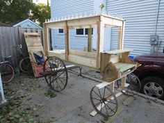 Horse/hearse on a budget.