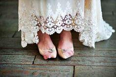 Scarpe da sposa vintage negozi online - Fotogallery Donnaclick