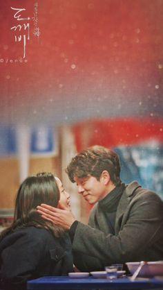 Goblin-Gong Yoo x Kim Go-eun_Korean Drama_id-Subtitle Boys Over Flowers, Goblin Kdrama Fanart, Goblin The Lonely And Great God, Goblin Korean Drama, Goblin Art, Goong Yoo, Goblin Gong Yoo, Kwon Hyuk, Yoo Gong