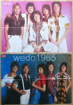 Bay City Rollers 2X German Poster