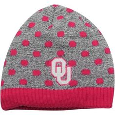 It's never too soon to start getting your little one ready to cheer for the Oklahoma Sooners and this Zulu knit hat is a great place to start!