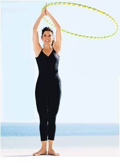 Hula Hoop Exercises: The Benefits of the hula hoop exercises are many. But here we summarize a few.