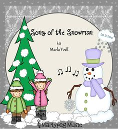 A very fun winter FREEBIE!! The snowmen will come alive in your classroom as the children sing this catchy tune and *roll* their snowmen around the room! Grades K-2 will enjoy singing this piece and will have a ton of fun adding a bit of drama/pretending! The 6/8 time signature moves the piece right along and provides the possibility of assessing the students on strong or steady beat.