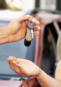 """How to Buy Your First Car""...useful article about the ins and outs of first-time car buying."