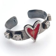 What a great cuff by Etsymetal team juried member ! Made from sterling street sign and dice its heading to the bracelet show opening Heart Jewelry, Heart Ring, Metal Projects, Street Signs, Bracelet Making, Cuff Bracelets, Cufflinks, Jewels, American