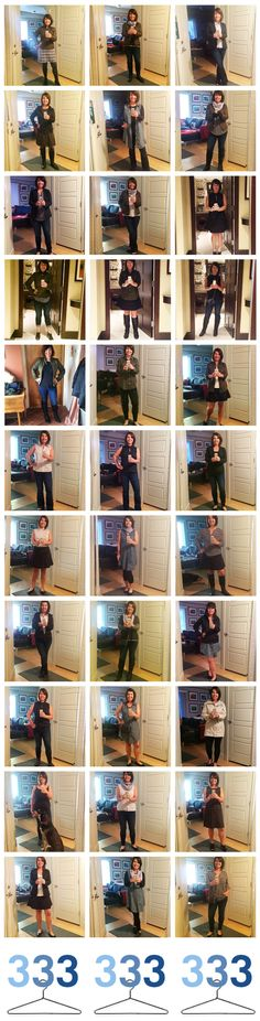 Capsule Wardrobe List: 33 Looks with 33 Items #Project333