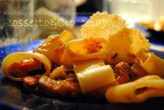 PACCHERI SARDE, MELANZANE E PACHINO  http://blog.giallozafferano.it/saporidicasamia/paccheri-sarde-melanzane-e-pachino/