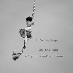 Life begins at the end of your confort zone # lauquotes Space Quotes, Me Quotes, Confort Zone, Magic Words, Instagram, Life, Texts, Inspirational, Books