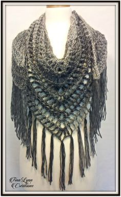 Ravelry: Shamdana Shawl by Tina Lynn Creations