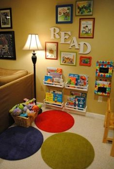 Simple yet Cool Reading Nook for Kids
