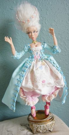 Babette OOAK Posable Art Doll.