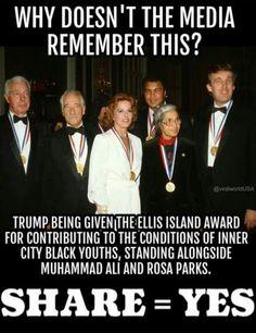 Trump loves America