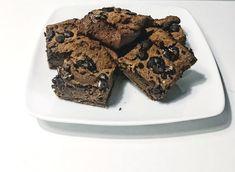 fudgy pumpkin slourless brownies   paleo, AIP, gluten free, vegan   the health junkee