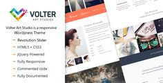 Volter Responsive One Page WordPress Theme - Creative
