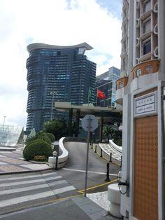 Macau Macau, Modern Buildings, Sidewalk, Side Walkway, Sidewalks, Pavement, Walkways