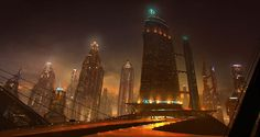future city by emanshiu.deviantart.com on @DeviantArt