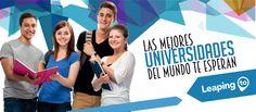 ¡Este verano inicia tus estudios con LeapingTo! Descubre las universidades que puedes elegir para estudiar en el exterior Para mayor información: info@leapingto.com  +57 (2) 3809239 WhatsApp +57 3157646821.