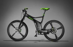 Smart BRABUS E-Bike: In addition to their smart Fortwo at the Geneva Motorshow German tuner BRABUS and Smart have Smart Brabus, Smart Fortwo, Electric Bicycle, Electric Scooter, Electric Car, Electric Motor, Montain Bike, E Mobility, Bike News