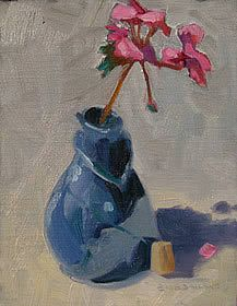 Oil Paintings Still Life: Uncorked