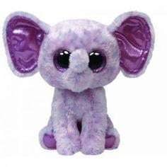 New Beanie Boos | ... Boos Ellie Pink Speckled Elephant Regular Plush TY Beanie Boos NEW F