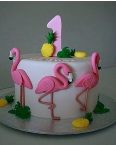 Flamingo Decorating Ideas Dazzling Inspiration Cake And Charming Best On Delicio. Flamingo D Flamingo Cake, Flamingo Birthday, Celebration Cakes, Birthday Celebration, Rodjendanske Torte, Dessert Original, Birthday Cake Decorating, Cake Birthday, 5th Birthday