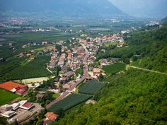 "This is the town ""Burgstall"" where our local store is located. You can see it in the bottom left corner."