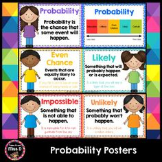probability math center possible or impossible sentence sort probability game first grade. Black Bedroom Furniture Sets. Home Design Ideas