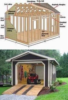 Woodworking: 7 Step By Step Tips - How To Choose The Best Garden Shed Designs: