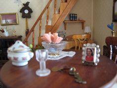 My doll house- Dinning Room´s table - Mi casita de muñecas - Mesa del comedor
