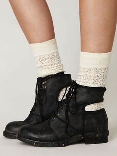 Romie Boot in black and they come in brown too! :D