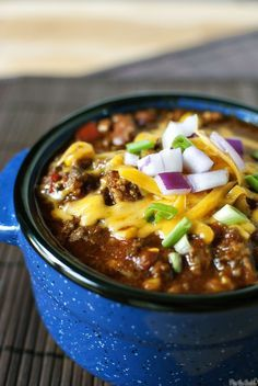 Big batch chili - made this weekend and was a major hit!