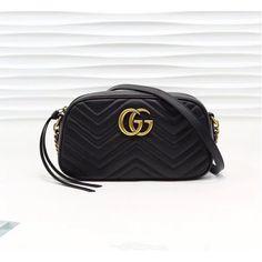 Gucci GG Marmont small matelasse shoulder bag GU447632A-black – LuxTime DFO Handbags Chain Shoulder Bag, Small Shoulder Bag, Designer Bags On Sale, Gg Marmont, Gucci Accessories, Luxury Handbags, Bag Sale, Antique Gold, 3 D