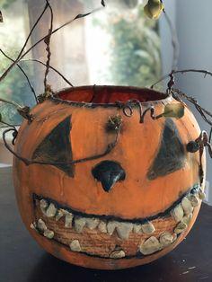 Fall Pumpkins, Halloween Pumpkins, Halloween Crafts, Halloween Ideas, Halloween Decorations, Pumpkin Decorating, Fall Decorating, Happy Halloweenie, Whimsical Halloween
