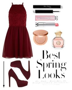 """""""Lock"""" by shemilys2-1 on Polyvore featuring moda, New Look, H&M, ALDO, Christian Dior, tarte y Tory Burch"""