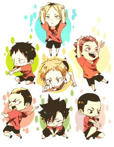 Nekoma - Haikyuu!! / HQ!!